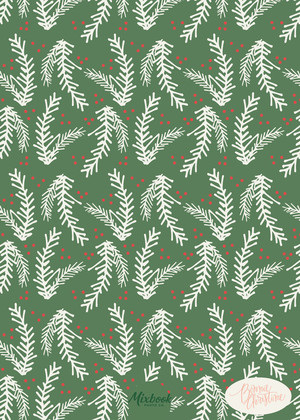 Christmas Garland by Bonnie Christine