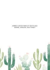 Cacti Bridal Shower