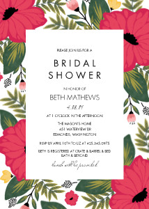 Vintage Floral Bridal Shower