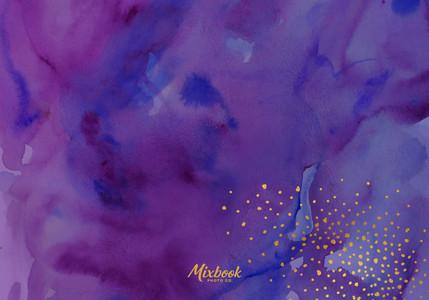 Galaxy Watercolor