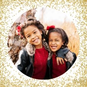Gold Glitter Christmas