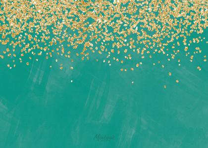 Sparkling Glittered Diwali
