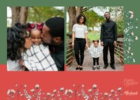 Merry Christmas Banner by Bonnie Christine (Copy)