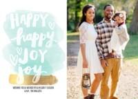 Holiday Happy Happy Joy Joy by Amy Tangerine