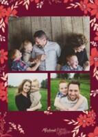 Joy Christmas Card by Bonnie Christine