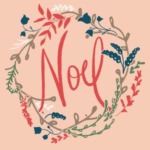 Noel Card by Bonnie Christine