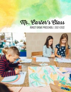 Rainbow Classroom Yearbook