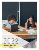 Kindergarten to High School Simple Modern Yearbook
