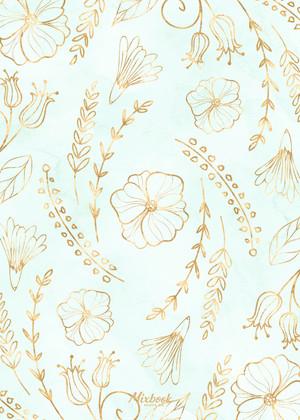 Mint Floral Party