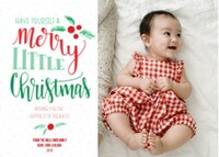 Merry Little Christmas by Printable Crush