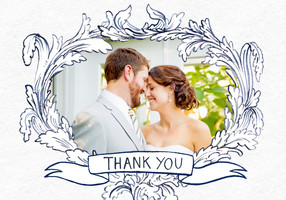 Flourish Thank You by Molly Hatch