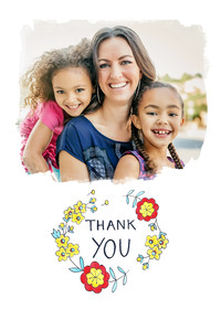 Thank You  Garland by Molly Hatch