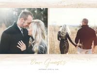Soft Wedding Neutrals Guest Book