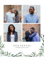 Wedding Greenery Guest Book