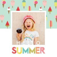 Hello Summer by Photo Play Paper