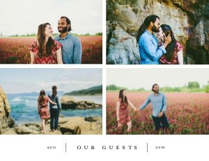 Wedding Simple Guest Book