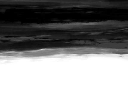 Black & White Watercolor