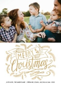 Merry Christmas Foil by Lily & Val