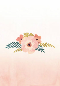 Watercolor Floral Wedding
