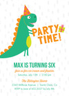 Dinosaur Party by Pennie Post