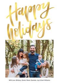 Happy Holidays by Brittany Luiz