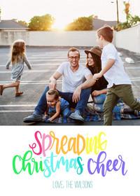 Spreading Christmas Cheer by Amanda Kammarada