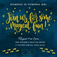 Magical Party By Amanda Kammarada