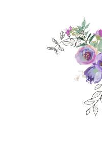 Foil Diamond Floral