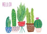 Cactus Stationery by Black Lamb Studio