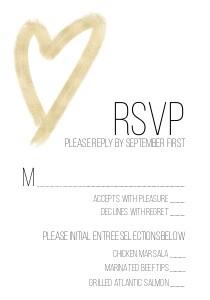 Heart Typography Wedding
