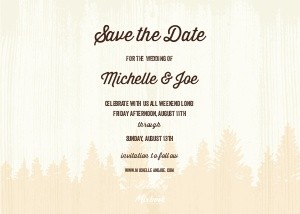 Tie the Knot Save the Date by Hello!Lucky