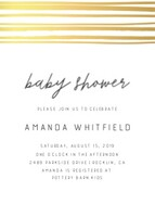 Simple Stripes Baby Shower