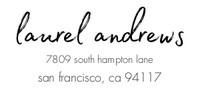 Modern Hand Lettered Wedding