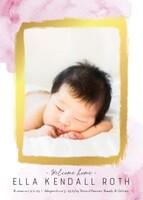 Adoption Girl Announcement
