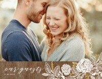 Rustic Chic Wedding Guest Book