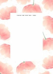 Romantic Blush Floral Wedding