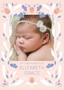 Baby Floral Seeds by Elizabeth Olwen