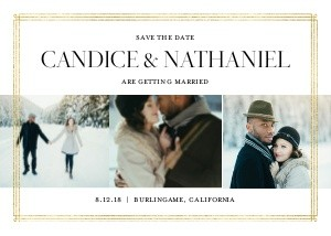 Classic Typography Wedding