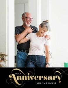 Glittered Anniversary