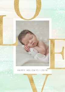 New Baby Holiday Love