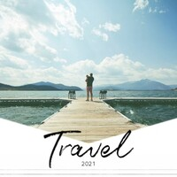 Modern Travels Calendar