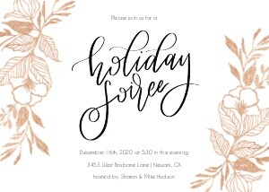 Floral Holiday Soiree