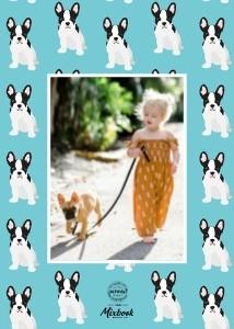 French Bulldog Invitation by Pennie Post