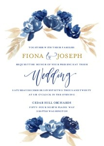 Navy Wedding by the Pigeon Letters
