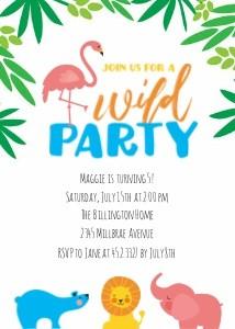 Wild Zoo Birthday