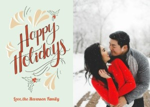 Retro Happy Holidays by Lily & Val