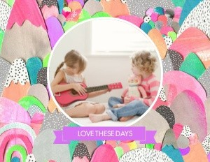 Love These Colorful Days by Laura Blythman