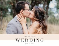 Soft Color Block Wedding