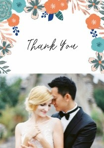 Floral Border Wedding