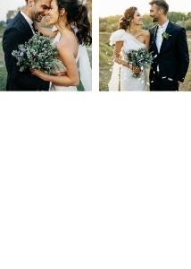 Foil Olive Leaf Wedding